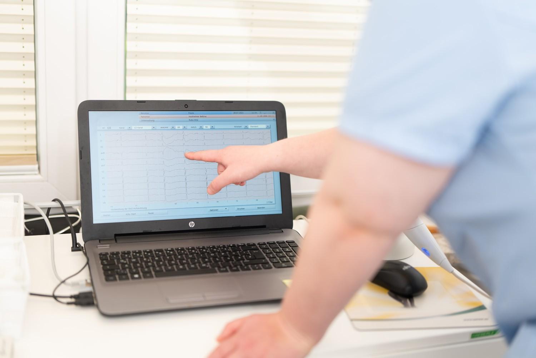Praxis Tüxen-Mengedoht - Auswertung Laptop